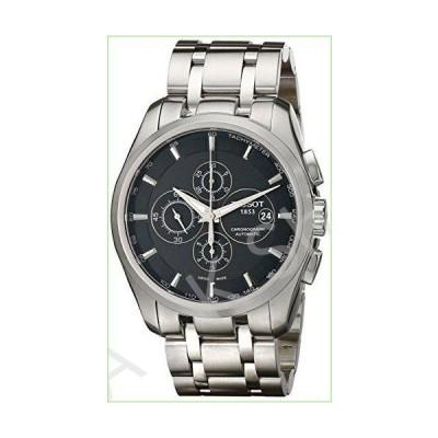 Tissot Men's T0356271105100 Couturier Chronograph Watch【並行輸入品】