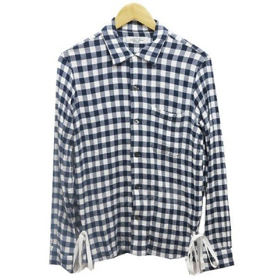 【SALE】 UNUSED long sleeve check shirt サイズ:2 (阿佐ヶ谷店)