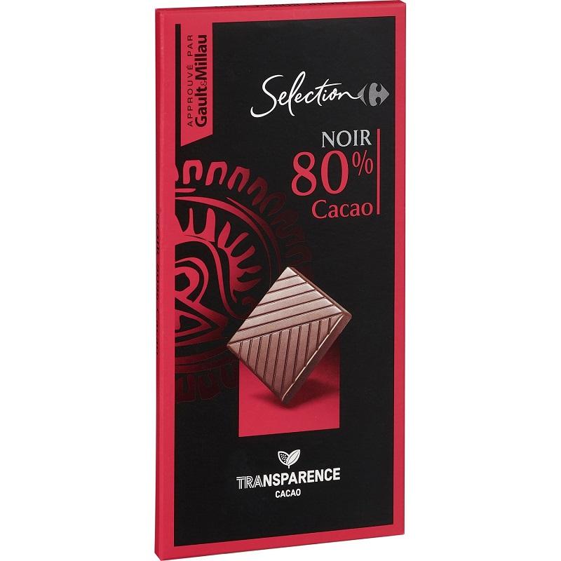 家福精選特黑巧克力80