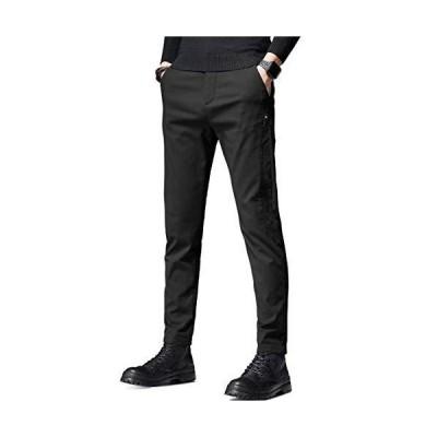 KTMOUW チノパン メンズ ズボン ロングパンツ スキニーパンツ ワイドパンツ イージーパンツ ストレートレッグパンツ 細身ストレッチ 美脚 ゆっ