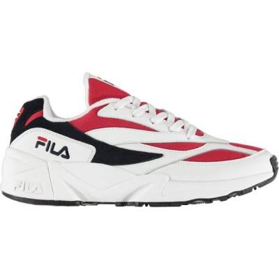 フィラ Fila メンズ スニーカー シューズ・靴 94 Heritage Trainers White/Navy/Red