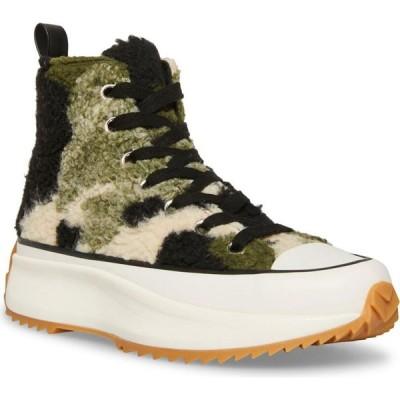 スティーブ マデン Steve Madden レディース スニーカー シューズ・靴 Shaft Platform High-Top Sneakers Camoflage