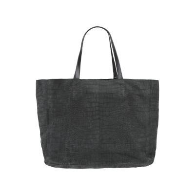 OFFICINE CREATIVE ITALIA ハンドバッグ ブラック 革 ハンドバッグ