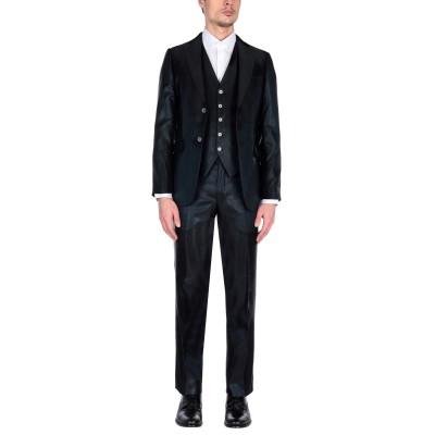 PAL ZILERI CERIMONIA スーツ ブラック 52 アセテート 100% スーツ
