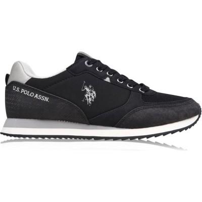 ユーエスポロアッスン US Polo Assn メンズ シューズ・靴 Bryson Trainers Black BLK