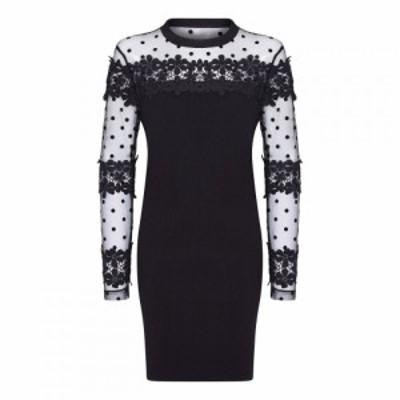 ユミ Yumi レディース ワンピース ワンピース・ドレス Spot Boydcon Dress Black