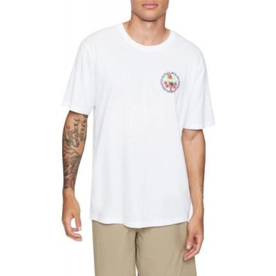 ハーレー Hurley メンズ Tシャツ トップス Everyday Washed Parrot T-Shirt White