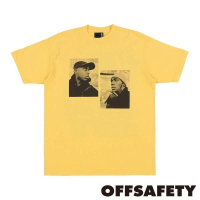 【OFF SAFETY/オフセーフティー】REFLECTION TEE Tシャツ / YELLOW(L)