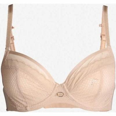 シャントル CHANTELLE レディース ブラジャーのみ インナー・下着 Parisian Allure 4-part lace bra wu Nude