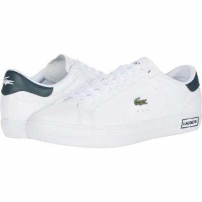 ラコステ Lacoste レディース シューズ・靴 Powercourt 0520 1 SFA White/Dark Green