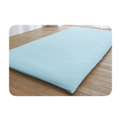 寝具 ベッド 布団カバー シーツ フィットシーツ・無地(日本製綿100%) ダブル(145×210cm)|1809-887817