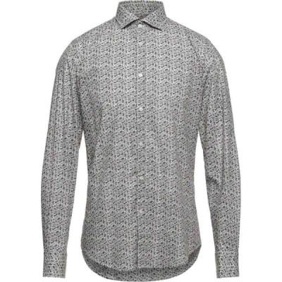 タケシ クロサワ TAKESHY KUROSAWA メンズ シャツ トップス Patterned Shirt Beige