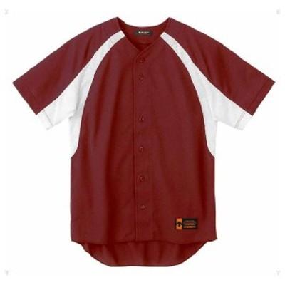 デサント 野球・ソフトボール用ユニフォームシャツ(ENG・サイズ:XA) DS-DB48M-ENG-XA返品種別A