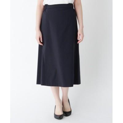 CORDIER(コルディア) ノンタックミモレAラインスカート