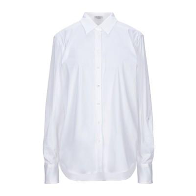 ブルネロ クチネリ BRUNELLO CUCINELLI シャツ ホワイト L コットン 72% / ナイロン 23% / ポリウレタン 5% シャツ