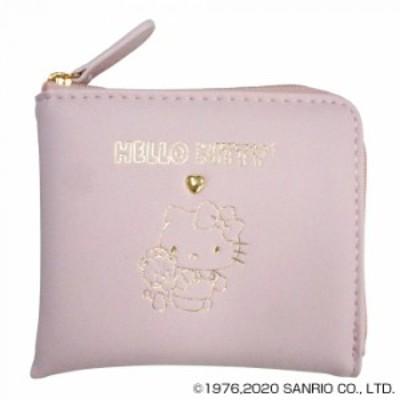 HelloKitty ハローキティ スリムミニ財布 ピンク HK67-1