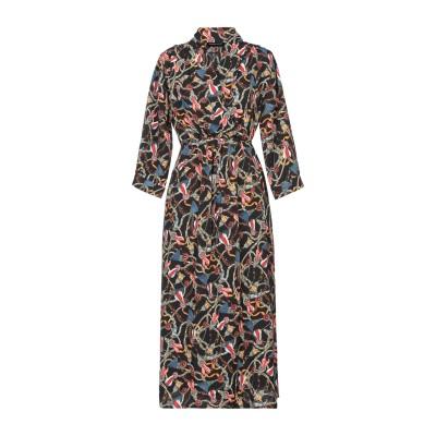 VANESSA SCOTT 7分丈ワンピース・ドレス ブラック one size ポリエステル 100% 7分丈ワンピース・ドレス