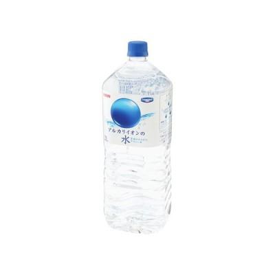 うまい村デイリー キリン アルカリイオンの水 ペット 2L x6