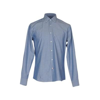 KEN BARRELL シャツ ブルー 40 コットン 100% シャツ