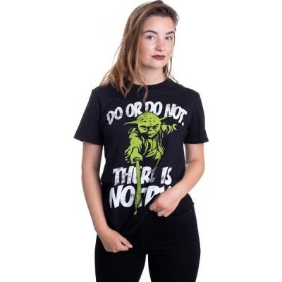 インペリコン Impericon レディース Tシャツ トップス - There Is No Try Yoda - T-Shirt black