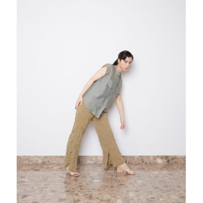 【アーバンリサーチ/URBAN RESEARCH】 LAATO WRINKLES SLIT PANTS