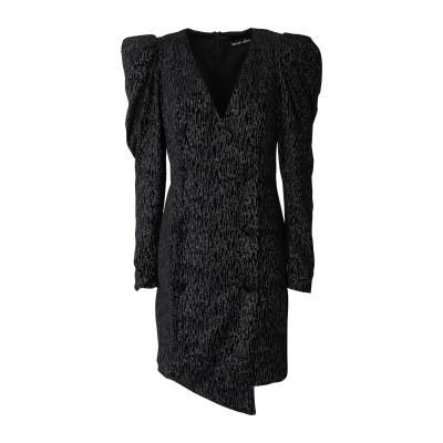 LAVISH ALICE ミニワンピース&ドレス ブラック 10 ポリエステル 95% / ポリウレタン 5% ミニワンピース&ドレス