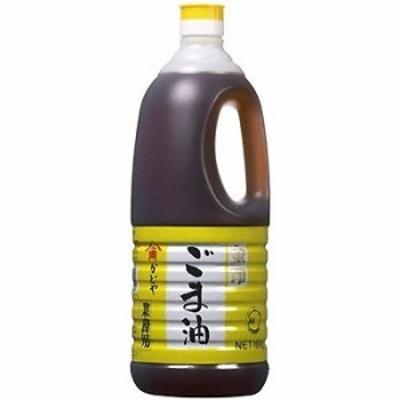 かどや ごま油 金印 濃口 ポリ 1650g