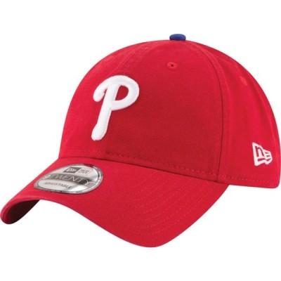 ニューエラ New Era メンズ キャップ 帽子 MLB 9Twenty Core Classic Replica Cap MLB/Philadelphia Phillies/Red/Game