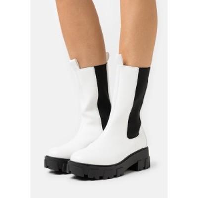 レイド レディース ブーツ&レインブーツ シューズ ELLERY - Platform boots - white white