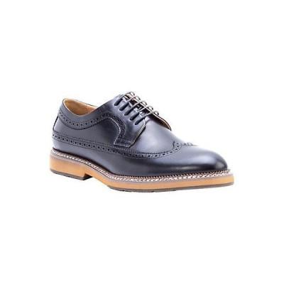 メンズ シューズ  Zanzara Kooning Leather Dress Shoe