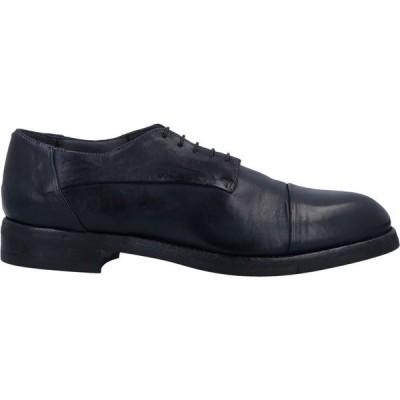 FABRIZIO SILENZI メンズ シューズ・靴 laced shoes Dark blue