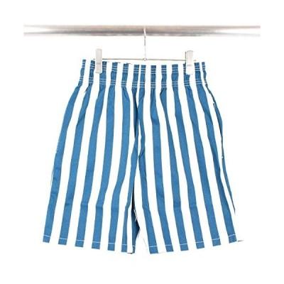 Cookman/クックマンChef Short Pants Wide Stripe Navy シェフ ショート パンツ ワイド ストライプ