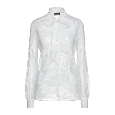 ERMANNO DI ERMANNO SCERVINO シャツ ホワイト 40 ナイロン 100% シャツ