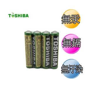 東芝 環保碳鋅電池4號 40入
