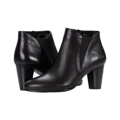 David Tate デービッドテール レディース 女性用 シューズ 靴 ブーツ アンクル ショートブーツ Pippy - Black Lamb
