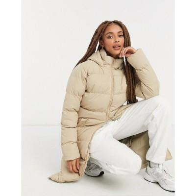 スリードベア レディース コート アウター Threadbare addison padded maxi coat