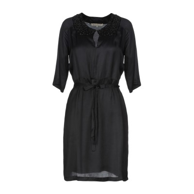 ロートレ ショーズ L' AUTRE CHOSE ミニワンピース&ドレス ブラック 42 レーヨン 100% ミニワンピース&ドレス