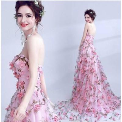 格安で本格的なウェディングドレス パーティー 披露宴 花嫁 ロングドレス 結婚式 オフショル レースアップ 2020 新作