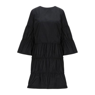 HANITA ミニワンピース&ドレス ブラック S ポリエステル 100% ミニワンピース&ドレス