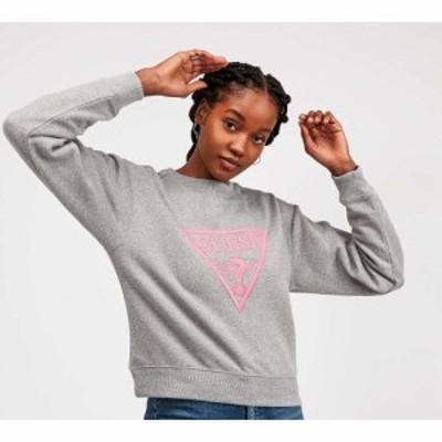 ゲス Guess レディース スウェット・トレーナー トップス neon fleece sweatshirt