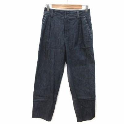 【中古】トゥモローランドコレクション パンツ デニム ジーンズ ロング 34 紺 ネイビー メンズ