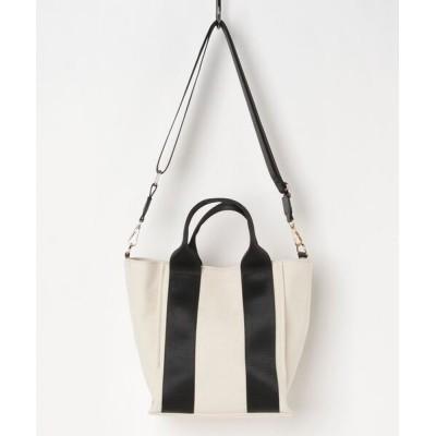 artemis by DIANA / 【COOCO】テープハンドル2WAYキャンバストートバッグ WOMEN バッグ > ハンドバッグ