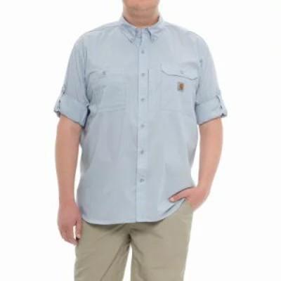 カーハート シャツ Force Ridgefield Solid Shirt - Long Sleeve Celestial Blue