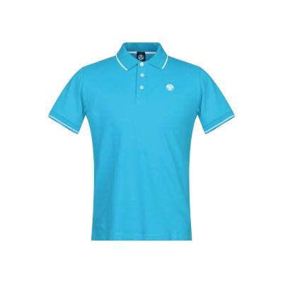 ノースセール NORTH SAILS ポロシャツ スカイブルー S コットン 95% / ポリウレタン 5% ポロシャツ