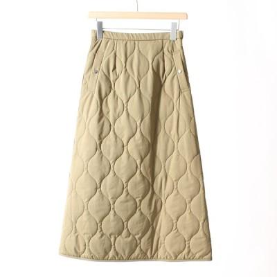 ジーンズファクトリークローズ Jeans Factory Clothes キルティングフレアスカート 219063