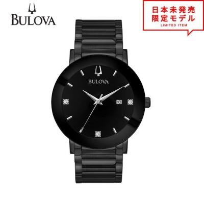 BULOVA ブローバ メンズ 腕時計 リストウォッチ 98D144 ブラック 海外限定 時計 日本未発売 当店1年保証 最安値挑戦中!