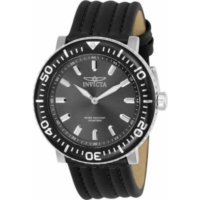 インビクタ 腕時計 New メンズ Invicta 24040 I-Force フォース 48mm Black Leather Strap クォーツ Watch インヴィクタ