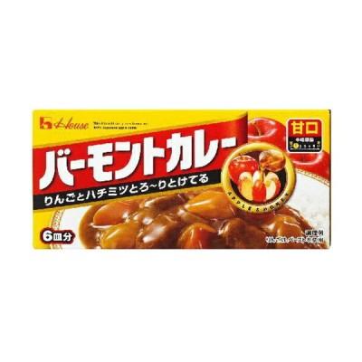 ハウス食品 バーモントカレー 甘口115g×10個