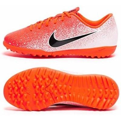 ナイキ サッカー フットサル トレーニングシューズ ジュニアヴェイパー 12 アカデミー PS TF(AH7353)オレンジ[通販 限定 激安 特価