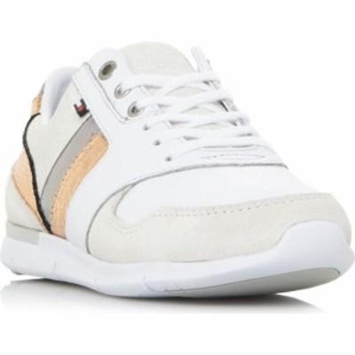 トミー ヒルフィガー Tommy Hilfiger レディース スニーカー シューズ・靴 Lea Lght Sneake Metalic Sneakers Off White